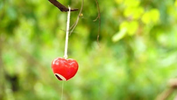4K Heart of love symbol of valentine day