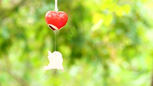 4k Herz der Liebe Symbol für Valentinstag
