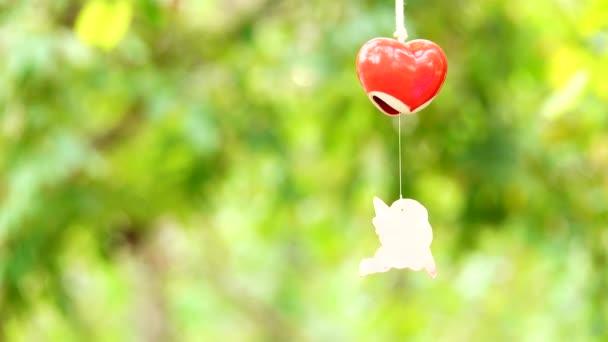 4k szívében szeretet jelképe Valentin nap