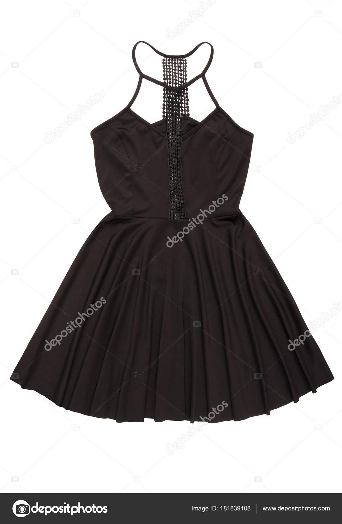 Schwarzes Abendkleid mit Guipure Dekor, cocktail Kleid schwarz, bea ...