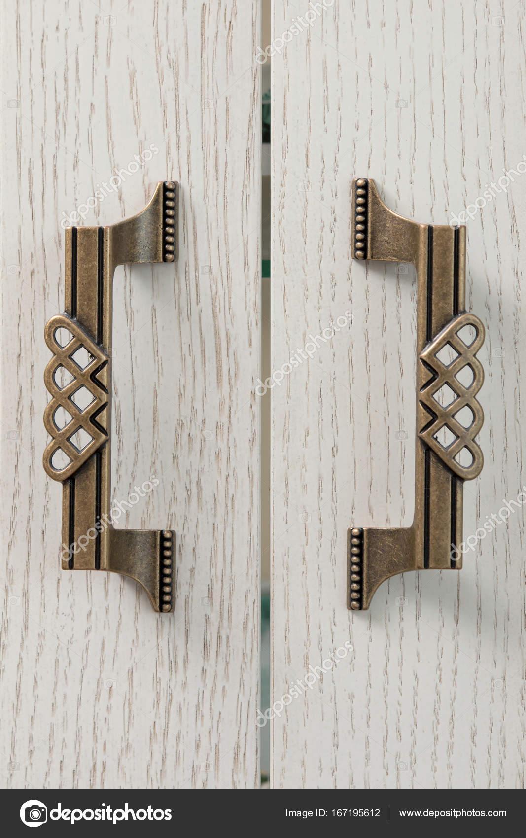 Schublade Griff Retro-Stil in der Küche — Stockfoto © evpv #167195612