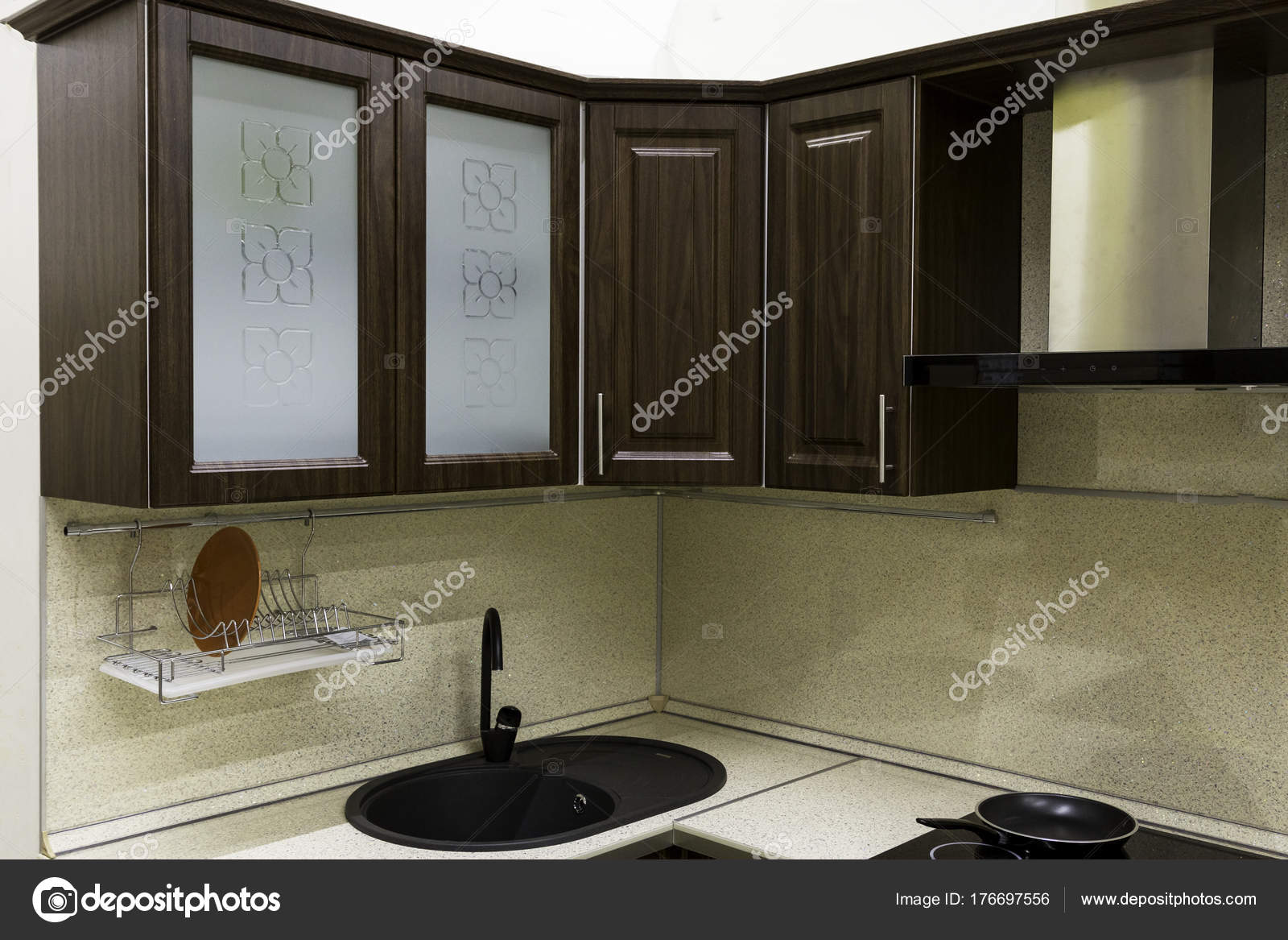 Pensili Cucina Cucina — Foto Stock © evpv #176697556