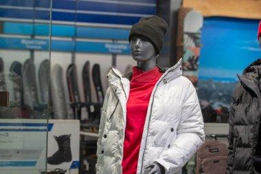 mannequins in a shop window