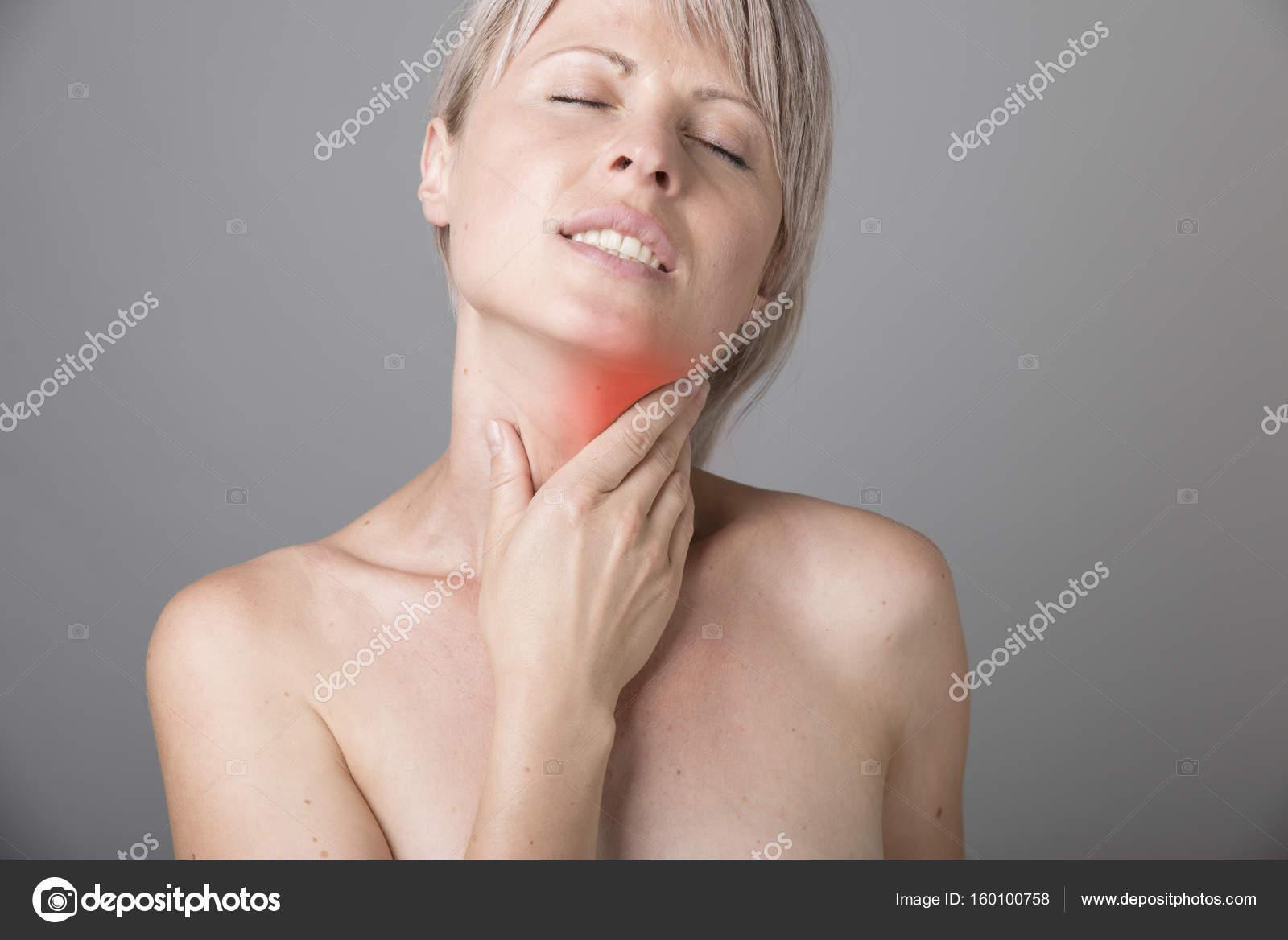 pijn in nek en keel