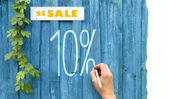 10 % prodej