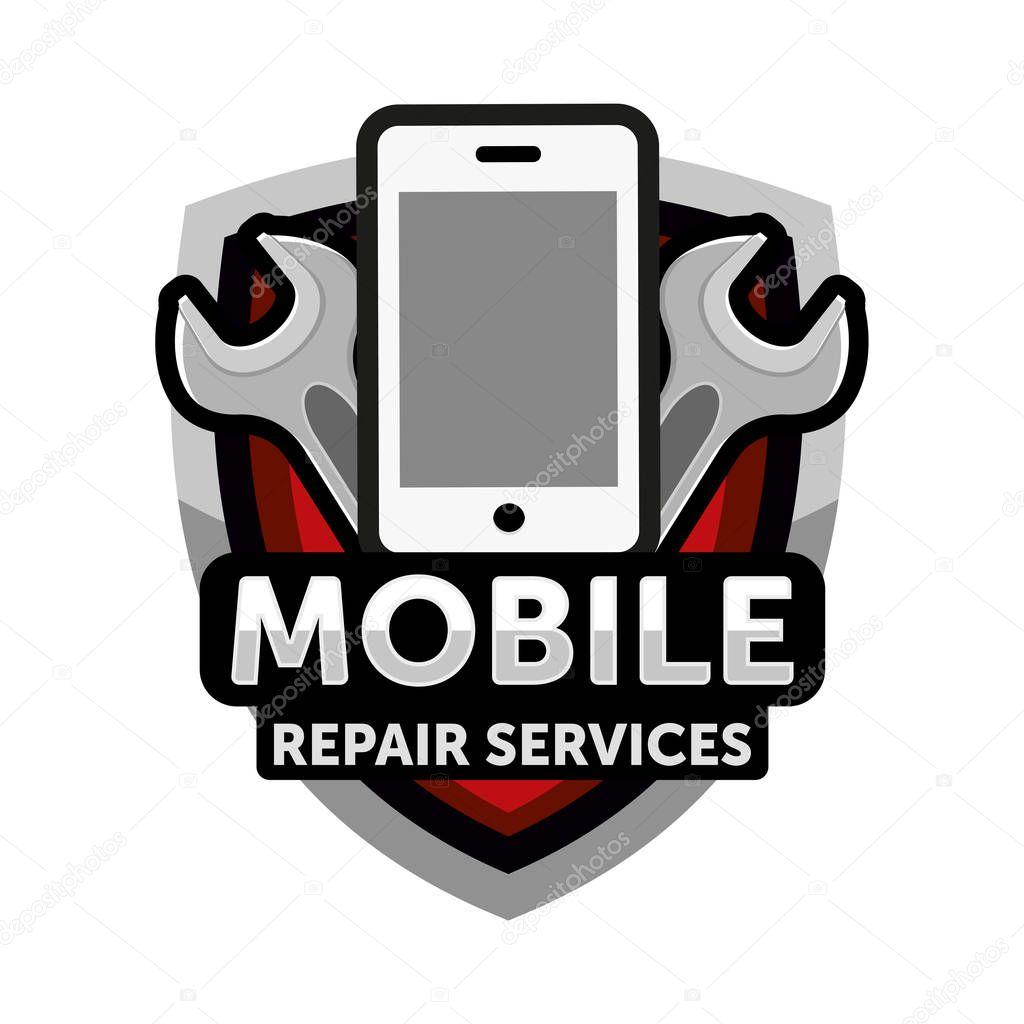 mobile repair services logo � stock vector 169 natalimis
