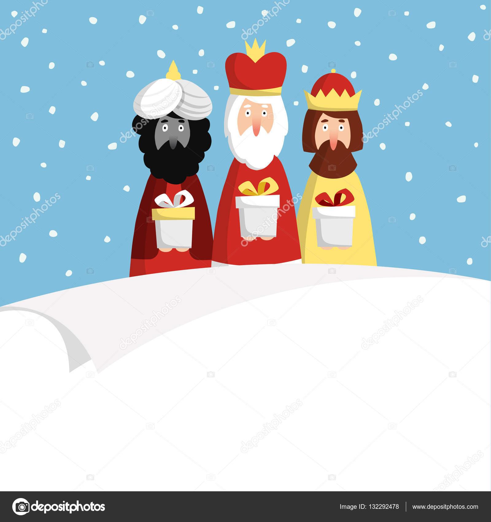 Felicitaciones navidad reyes magos