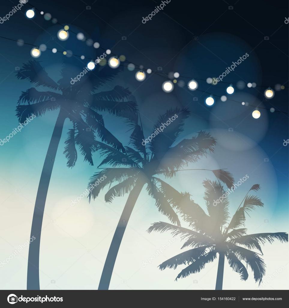 Tropische zomer partij of Festa Junina wenskaart, uitnodiging ...