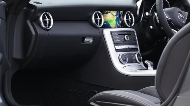 Car Interior And GPS Navigation Device