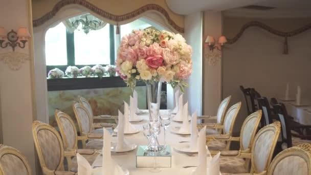 Elegant wedding decoration stock video mishelvermishel 126691568 elegant wedding decoration stock video junglespirit Gallery