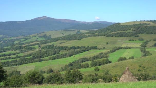 Fantastický výhled z hory krajina
