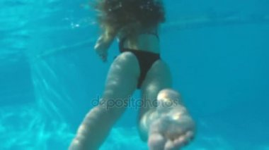 Sexy freediving women teen