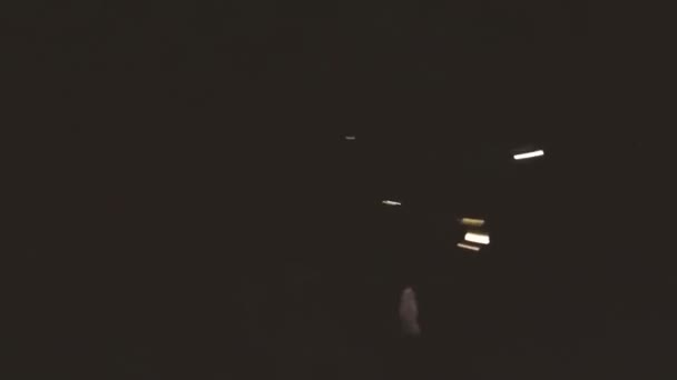Couple Riding Through the Tunnel at Aqua Park
