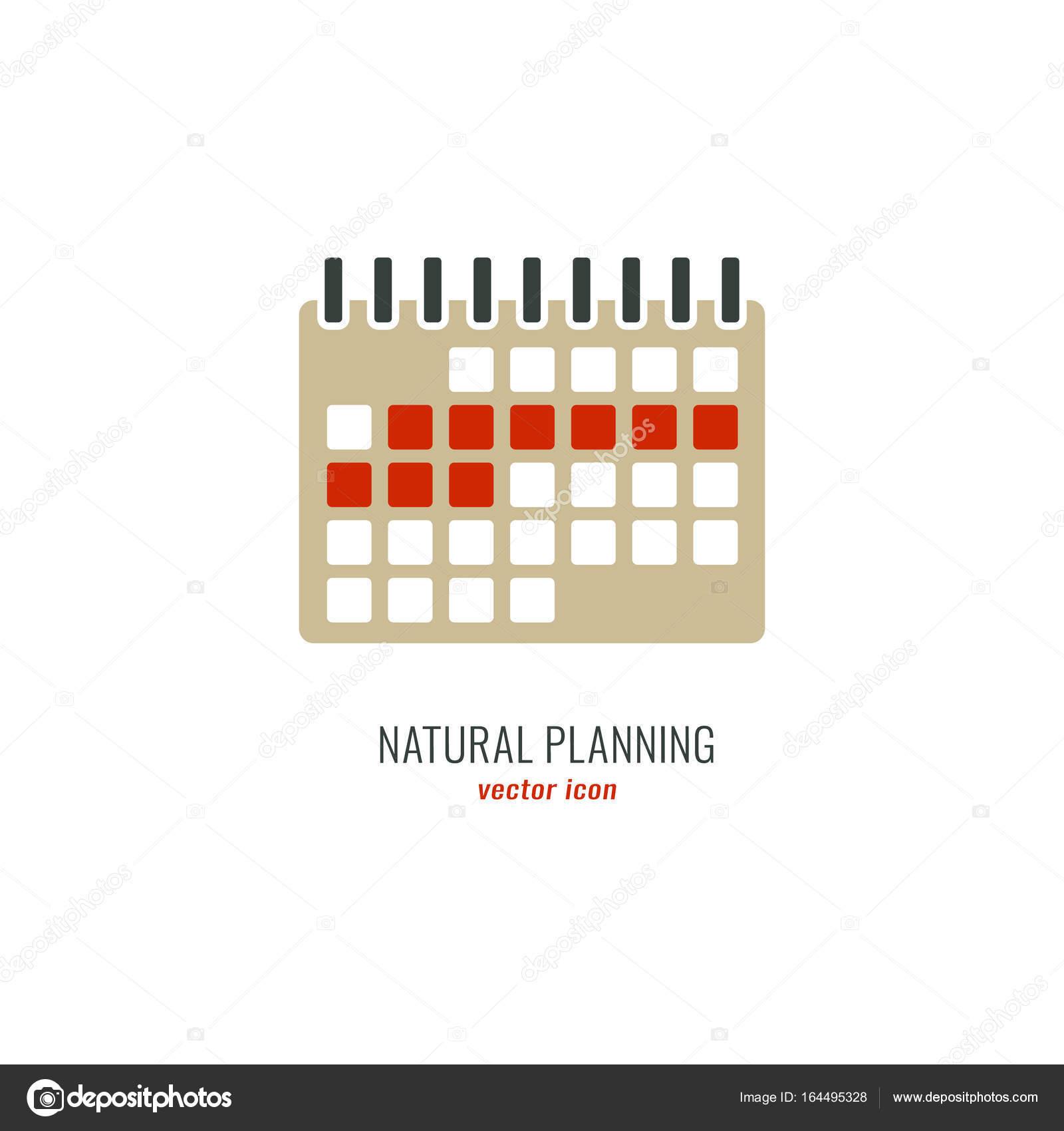 04f017578 Icono de ciclo menstrual. Control médico de nacimiento. Planificación de  embarazo natural. Ilustración de vector plano aislado sobre fondo blanco —  Vector ...