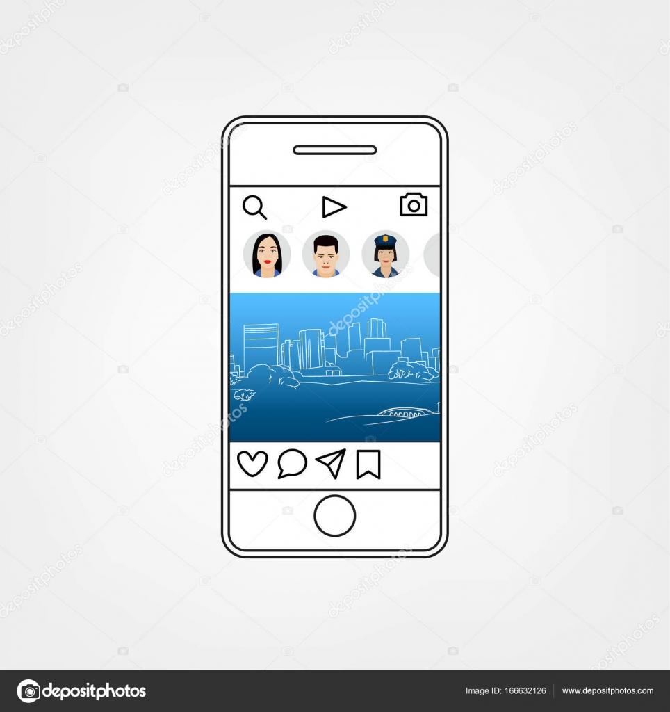 Soziales Netzwerk-Vorlage — Stockvektor © annyart #166632126