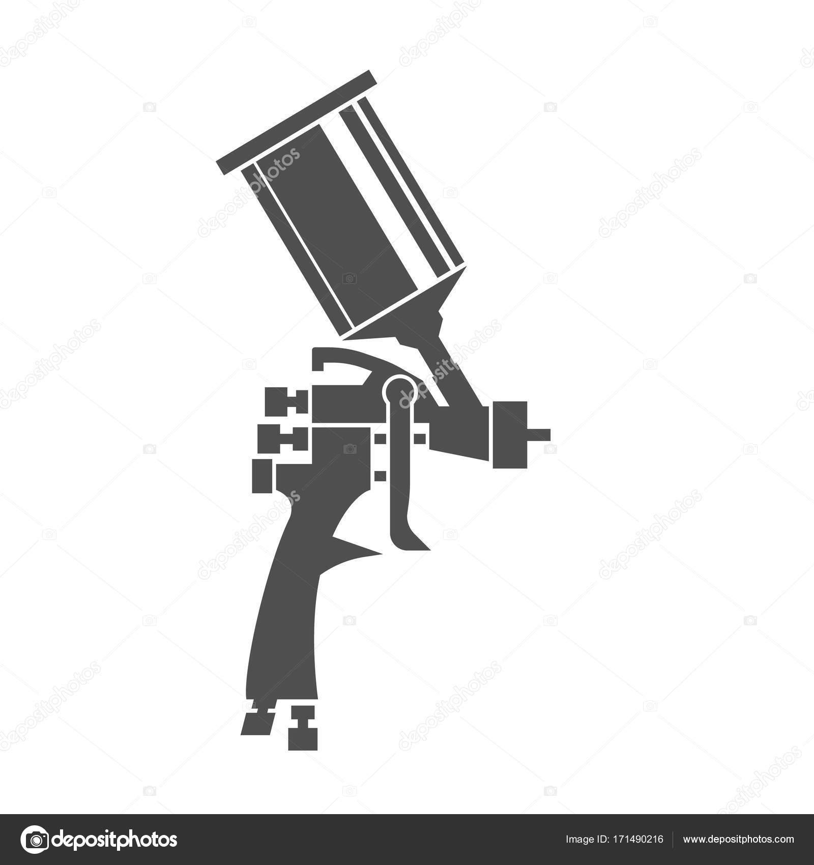 Spray gun icon stock vector annyart 171490216 spray gun icon stock vector buycottarizona