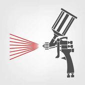 Photo Spray Gun Icon
