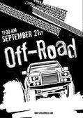 Offroad akce plakát