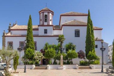The church of Santa Cecilia de Ronda, Spain.