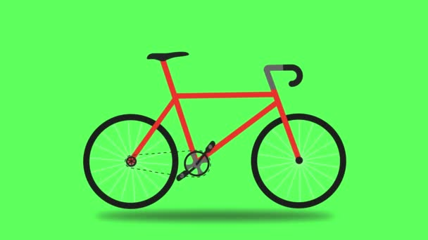 riding a bicycle over a green screen