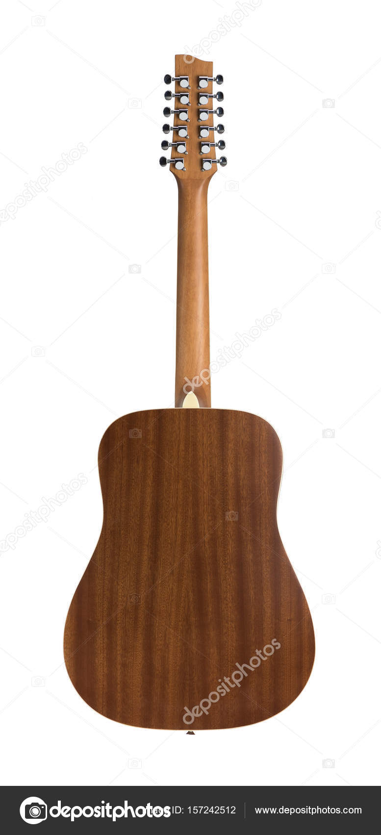 Back side of 12 string acoustic guitar stock photo kayco 157242512 back side of 12 string acoustic guitar isolated on a white background photo by kayco sciox Gallery