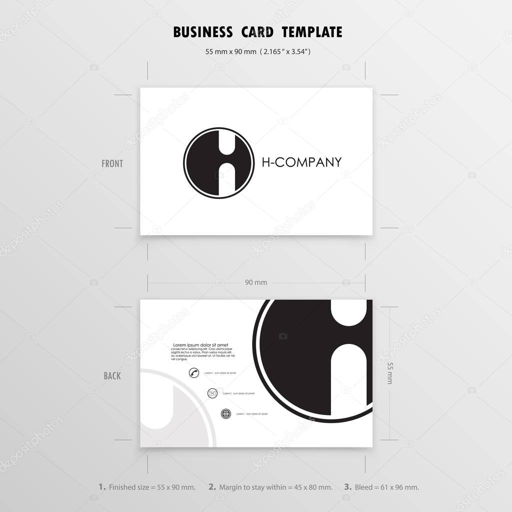 Business cards design template name cards symbol size 55 mm x business cards design template name cards symbol size 55 mm x 90 mm 2165 in x 354 inctor illustration vector by chatchai5172 reheart Image collections