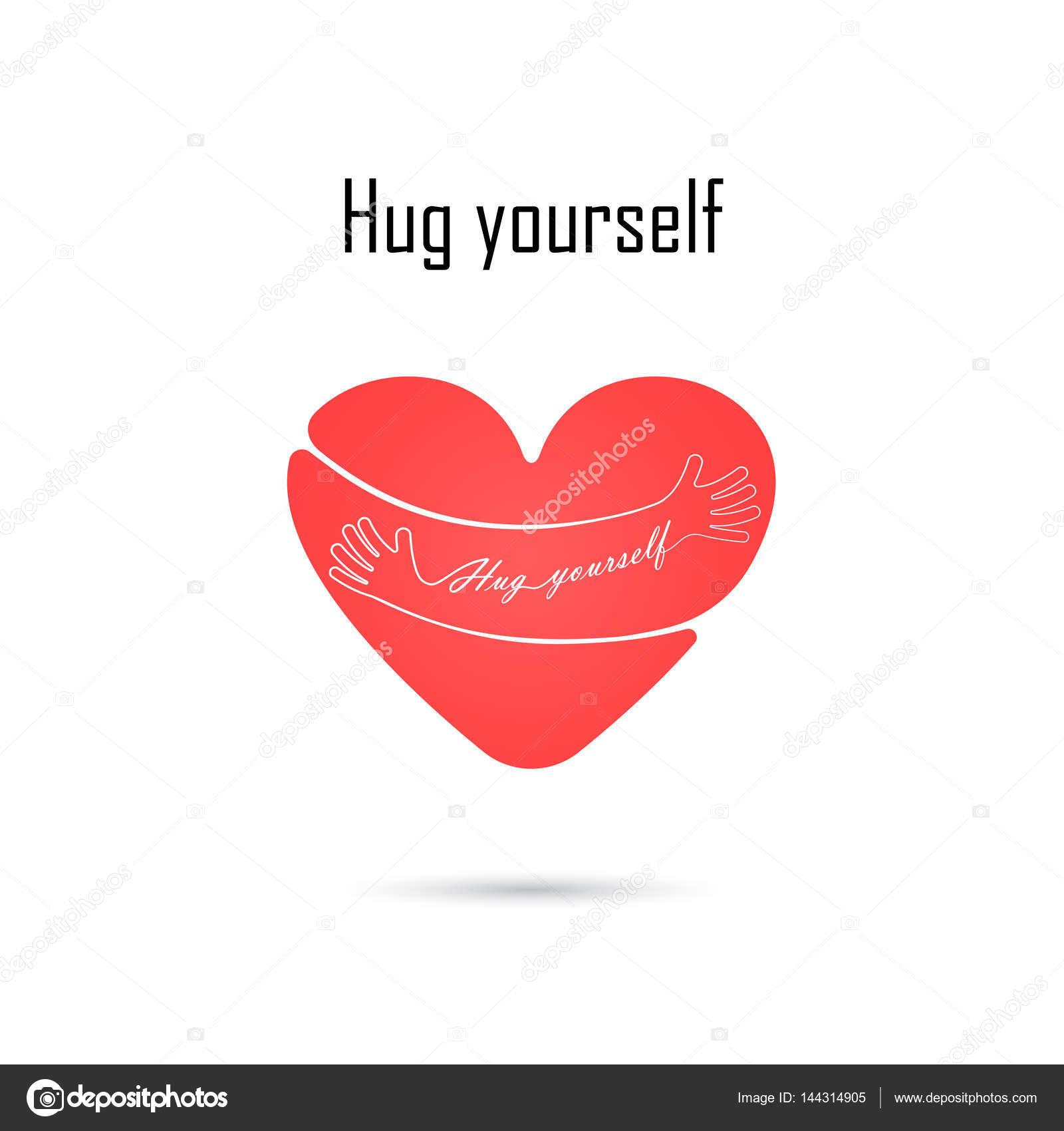 Hug yourself logolove yourself logolove and heart care iconem hug yourself logolove yourself logolove and heart care iconem buycottarizona