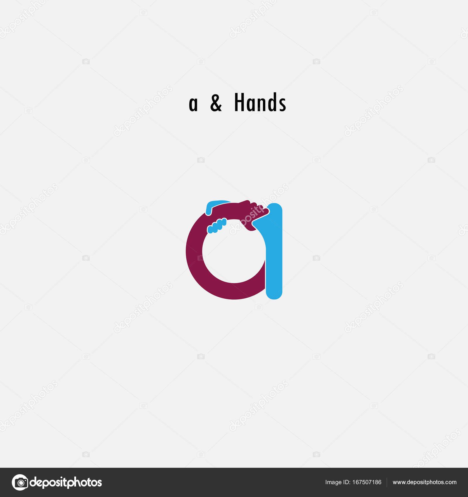 a-carta icono abstracto y plantilla de vector de diseño de logo de ...