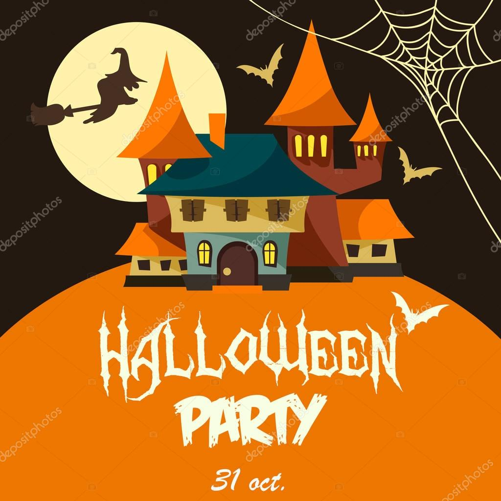 Halloween Party Megh 237 V 243 Stock Vektor 169 Scorpion333