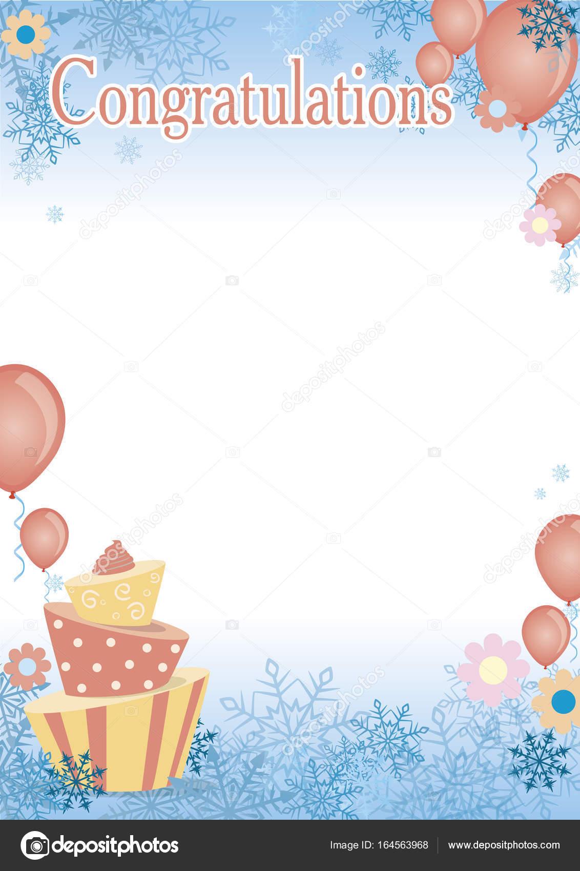 Zertifikat-Herzlichen Glückwunsch-Poster für Kinder — Stockvektor ...