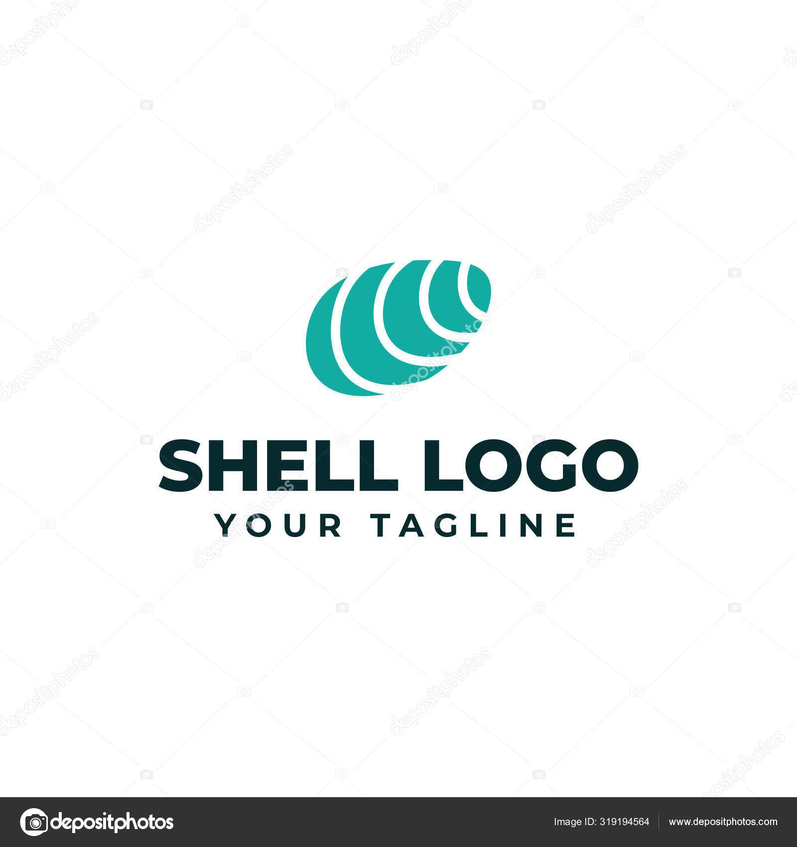 Sea Shell Oyster Seafood Restaurant Logo Design Template Stock Vector C Cloveo 319194564