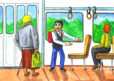 respect to elderly in transport