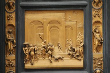 Florence - Panel of the Door of Paradise - Esau and Jacob