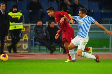 Italian Soccer Serie A Men Championship Roma vs Spal