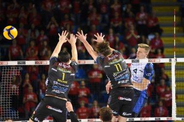 Italian Volleyball Men Cup Quarter Finals - Cucine Lube Civitanova vs Vero Volley Monza