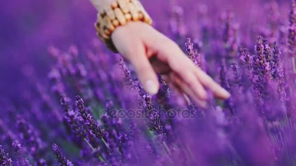 kézzel érint virágok