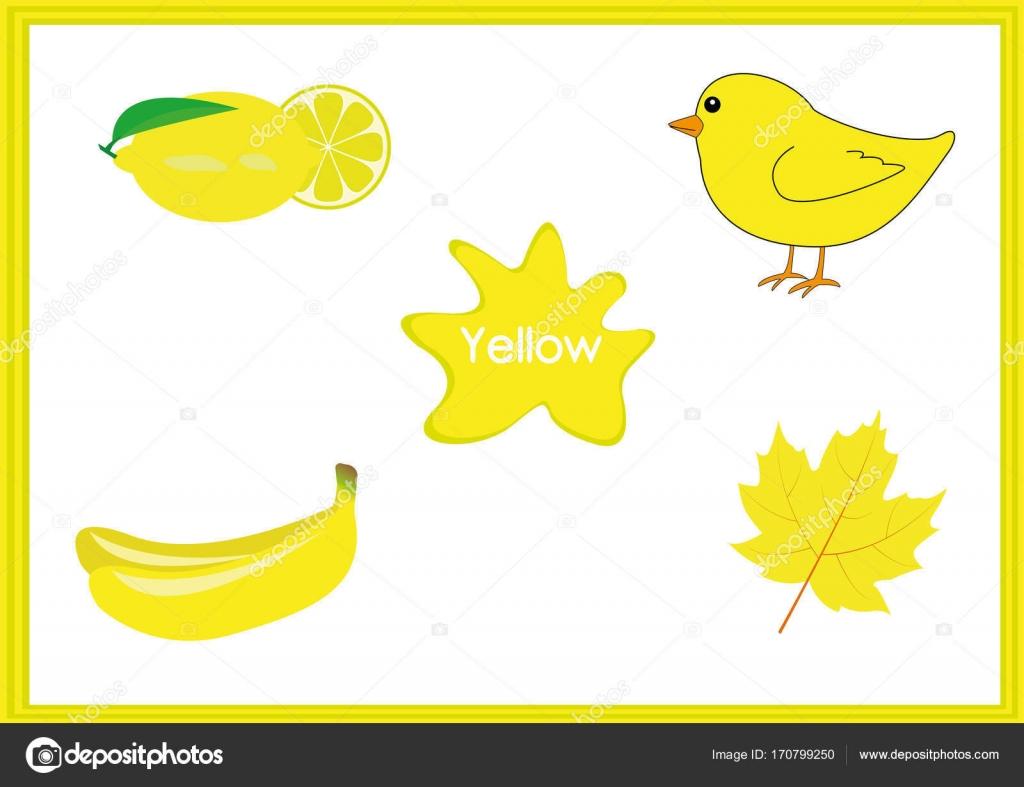 die Farben lernen Kinder lernen die Farben, fun-Arbeitsblatt ...