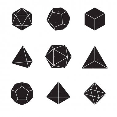 Geometric Shapes - Platonic Solids