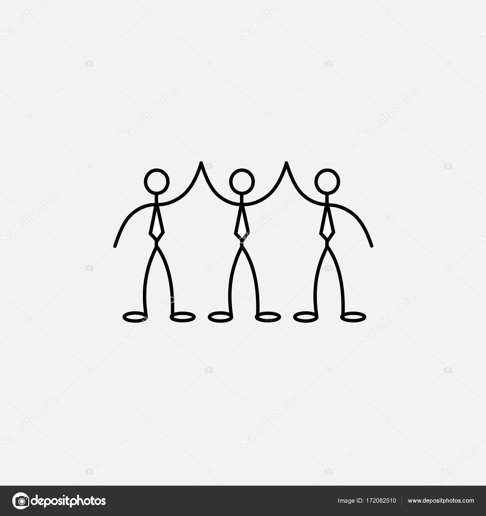 Drawings Of Little People Cartoon Icon Of Sketch Little People Stock Vector C Binik1 172082510
