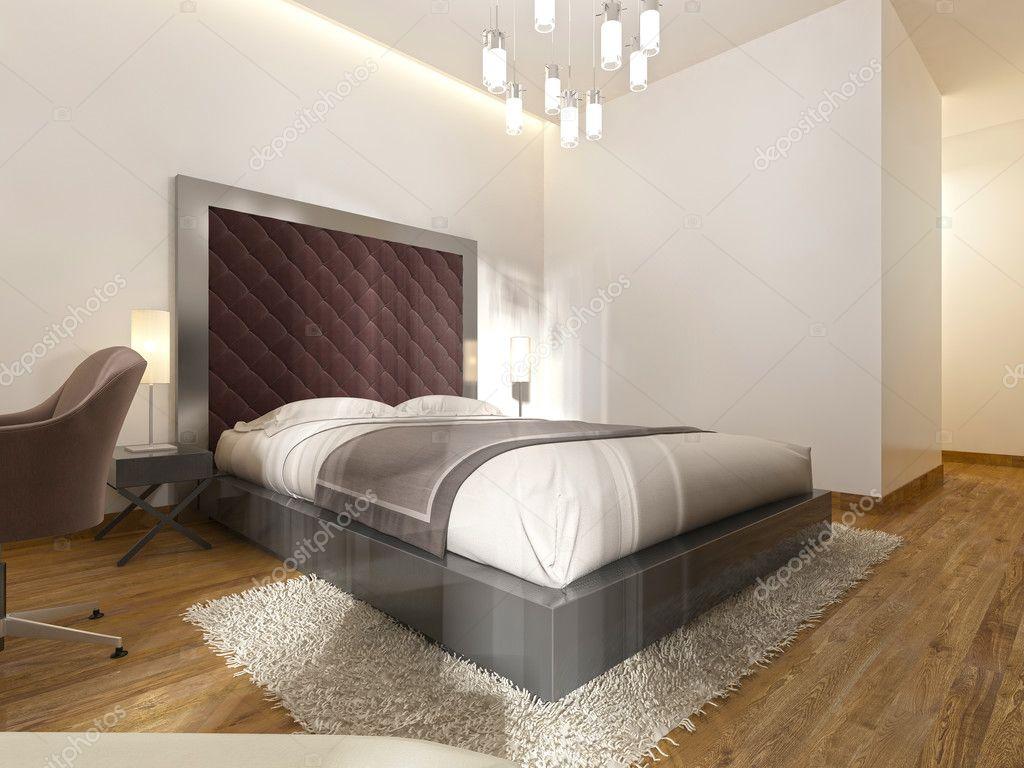 Photo Chambre Hotel Luxueux : Luxueux lit double dans la chambre d hôtel le style
