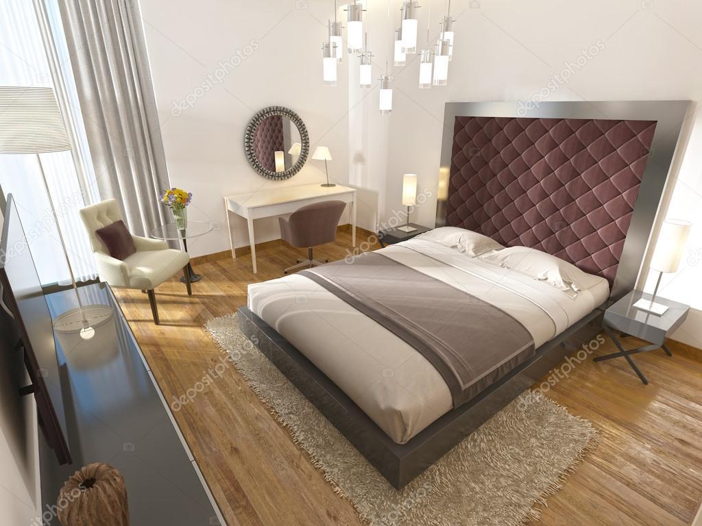 Een luxe hotelkamer in art deco u stockfoto kuprin