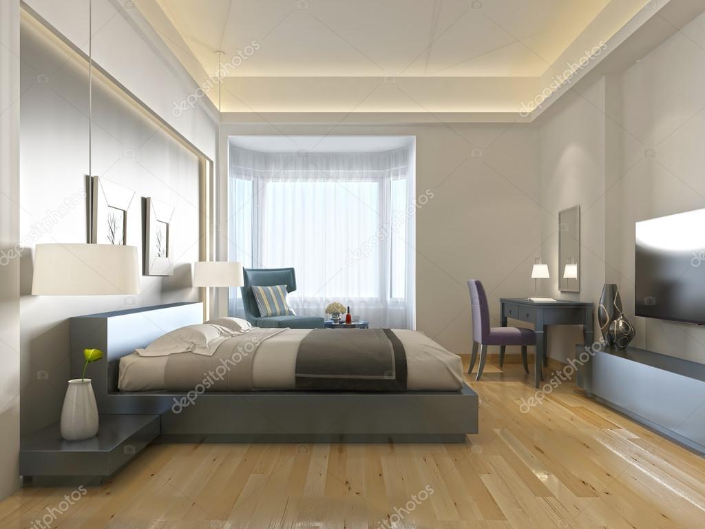 Hôtel moderne chambre style contemporain avec des éléments de l\'art ...