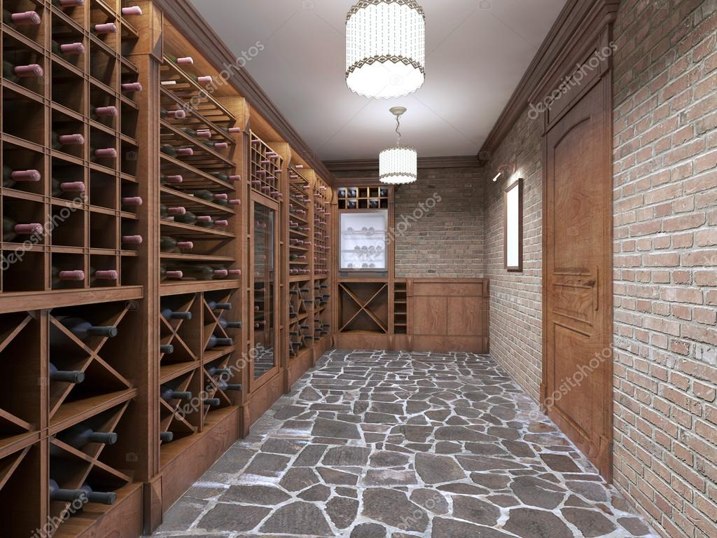 Wine Cellar In The Basement Of The House In A Rustic Style Stock Photo C Kuprin33 128160930