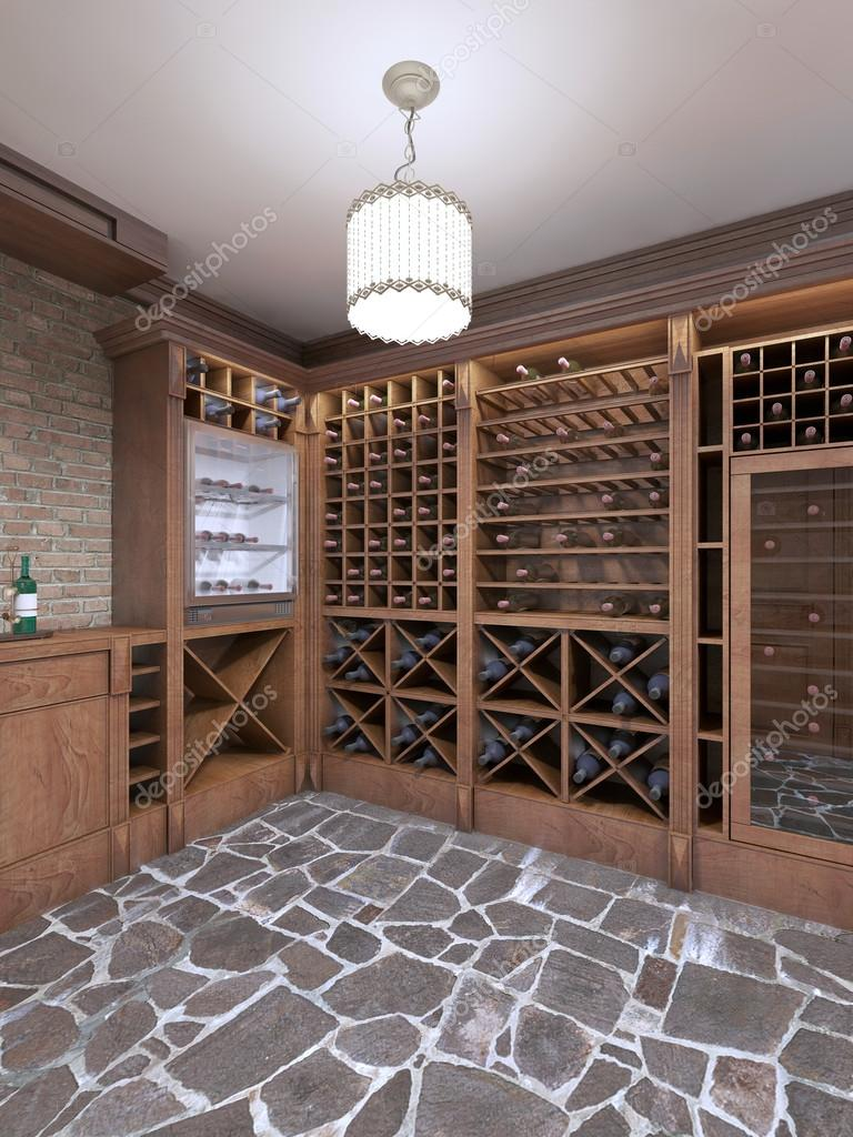 Wine Cellar In The Basement Of The House In A Rustic Style Stock Photo C Kuprin33 128161062