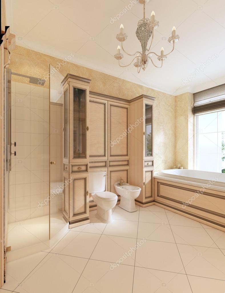 WC und Bidet in klassische Badezimmer — Stockfoto © kuprin33 #128165744