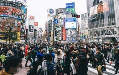 Shibuya Cross in Tokyo