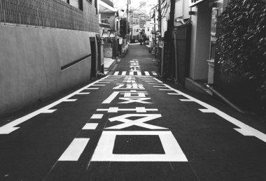 Narrow Street in Roppongi