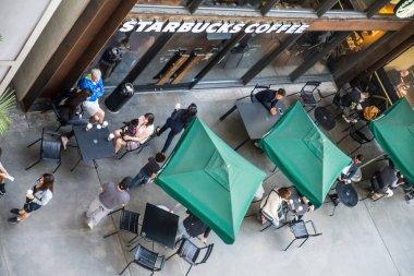 Starbucks coffeehouse shop