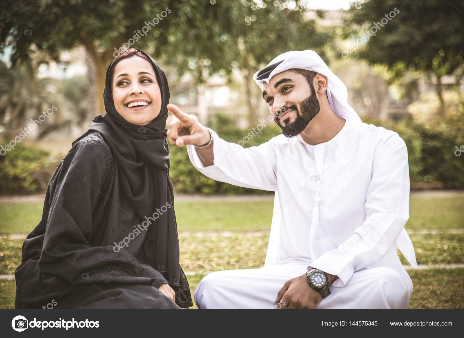 Muslimské seznamky v Dubaji