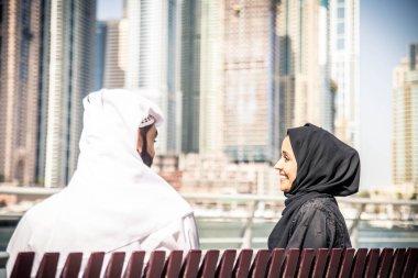 Arabian couple dating